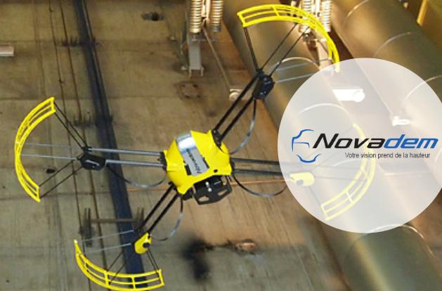 Ancien IRCE novadem drones