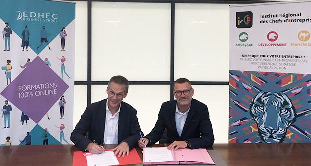 partenariat IRCE et EDHEC