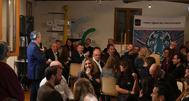 Atelier interactif lors des vœux 2020 de l'IRCE