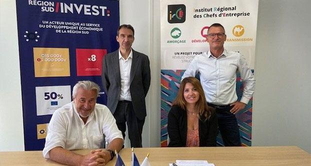 Signature du partenariat RSI-IRCE